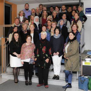 Mitglieder des Traumanetzwerks bei der ersten gemeinsamen Schulung im Oktober