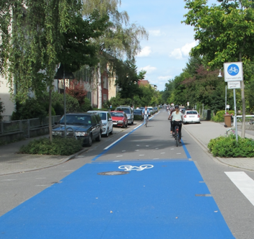 Fahrradstrasse Konstanz
