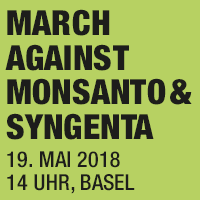 March against Monsanto and Syngenta