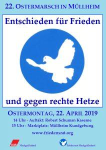Aufruf zum Ostermarsch vom Friedenrat Mühlheim