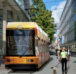 Tram / Strassenbahn in Lörrach - Vision
